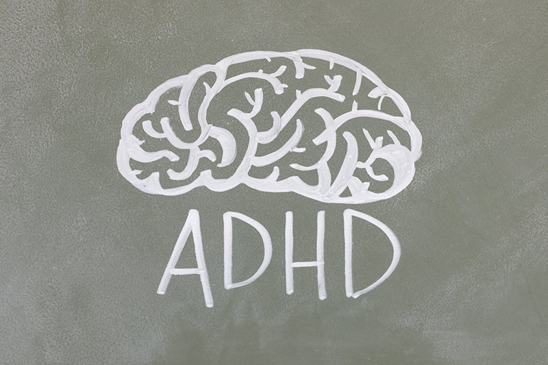 Adderall calms ADHD patients